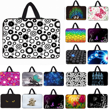 Notebook Fashion 3D Printing Shockproof Neoprene Laptop Bags For Toshiba Lenovo HP Apple 15.6 15.4 15 inch Mini Computer Handbag