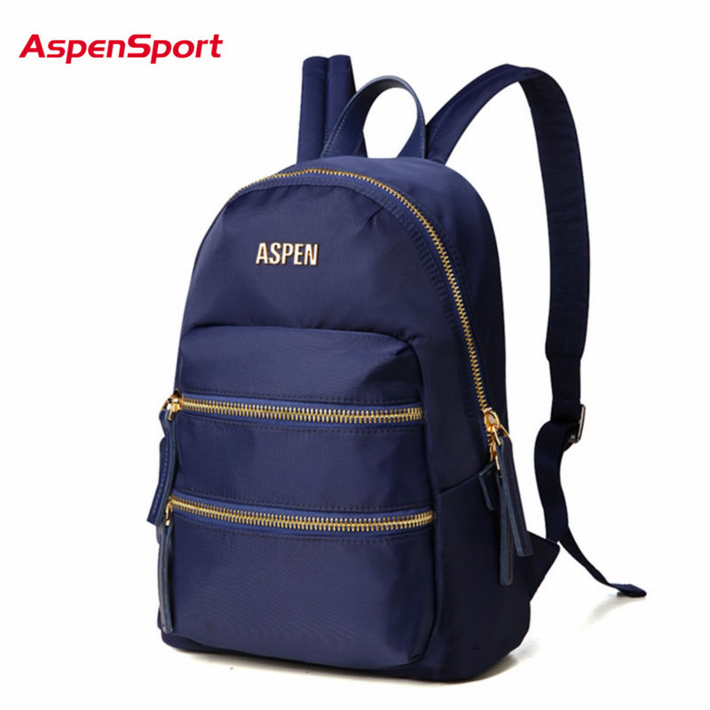 AspenSport 2017 New Season College Backpack For Girl Lady Mochila Rucksacks Women Fashion Travel Bag Child Canvas Backpack Bags<br>