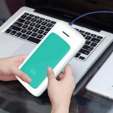 NEW 20000mAh Fashion Stripe Design Large Capacity Power Bank Dual USB Ports Mobile Battery Charger powerbank iphone