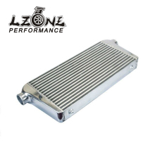 "LZONE RACING - 600*300*76mmUniversal Turbo Intercooler bar&plate OD=2.5"" Front Mount intercooler JR-IN816-25"