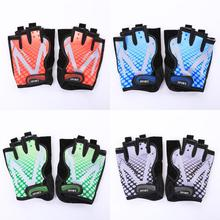 2pcs Cycling Gloves MTB Bicycle GEL Shockproof Half finger Motorbike Anti-skid waterproof Practical Safe For men women kid sport