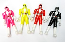 4 piece 12cm Plastic Ranger figure Boys Toys Pinata Bag Filler Birthday Party Favors Gift Novelty School Prize
