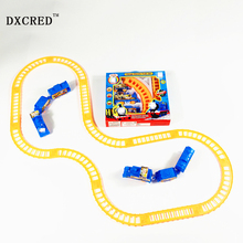 Car Electric Tom Train Track Railcar Children Educational Toys Rail Car Model Slot Toy Simple Orbit Car Kids Gifts
