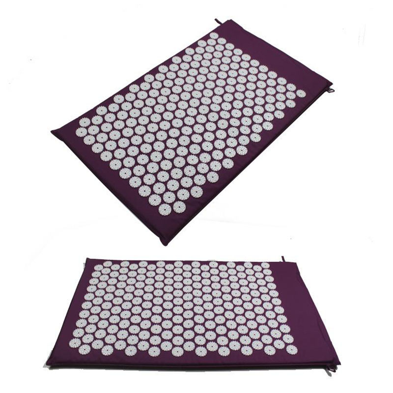 Massager cushion Acupressure Mat Relieve Stress Pain Acupuncture Spike Yoga Mat<br><br>Aliexpress
