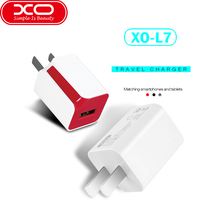 XO USB Charger 5V/1.0A USB Portable Travel Wall Charger Adapter ABS Fireproof material For iPhone Samsung HTC Bluetooth Speaker