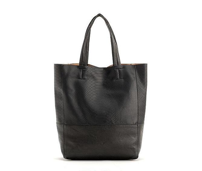 Women bag fashion female bag Python grain large capacity ladies handbags Single shoulder bag <br>