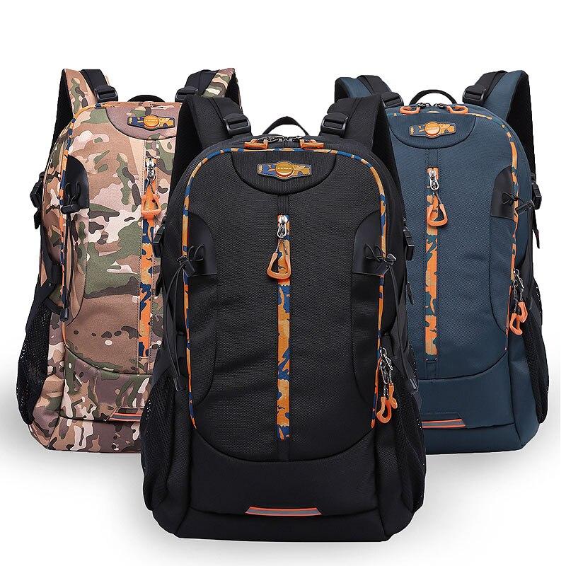 Waterproof Travel Backpack 48L Hike Camp Climb Laptop Backpack Brand Rucksack Mochila Reflective<br>