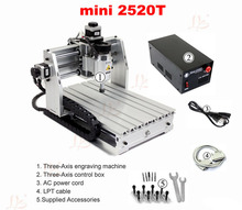 No tax to EU,Desktop mini engraver 2520T cnc milling machine,for new user and personal hobby