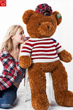 1.4M Huggable Super Soft Jumbo Plush Teddy Bear dolls sweater bear toy cloth doll for Large birthday Valentine's day party gift