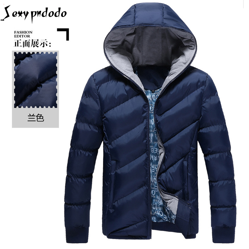 Down Cotton Cashmere Coat Winter Warm Jacket Men High Quality Parka Outwear Men Clothes Outwearing Jacket Coats Black Plus Size