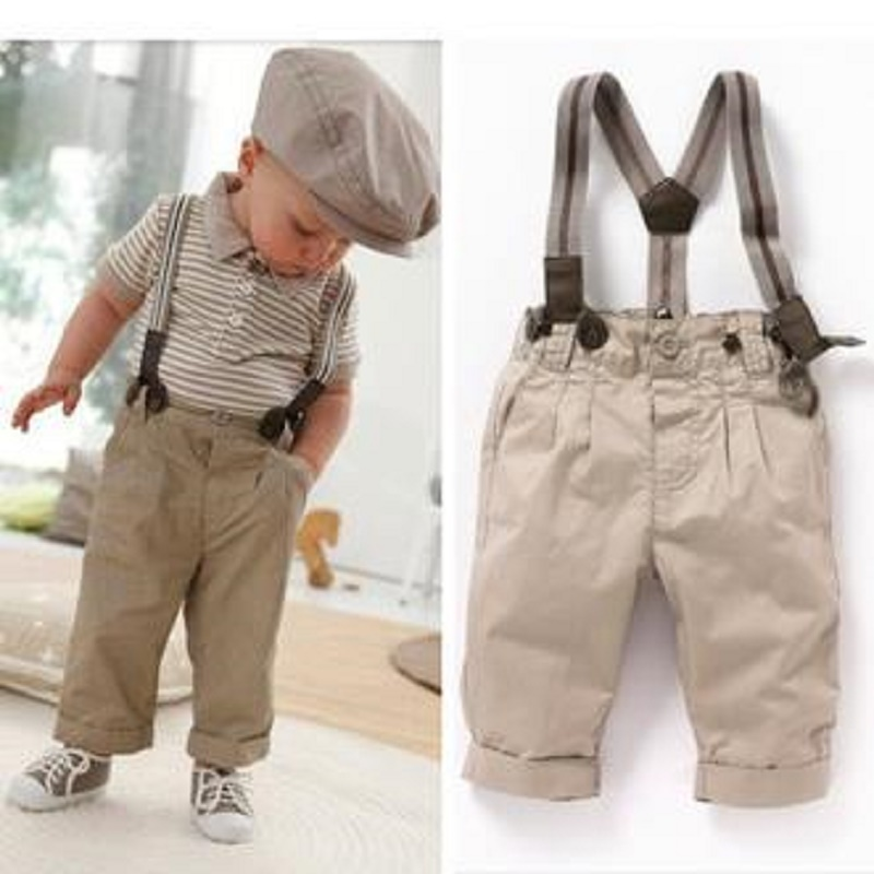 Baby Boy Set Summer Style Tshirt And Overall 2PCS Clothes Set Baby Boy Clothing Set Gentleman Fashion Clothes<br><br>Aliexpress