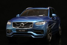 Diecast Car Model Welly GTA All New Volvo XC90 Sport Version 1:18 (Matt Blue)+SMALL GIFT
