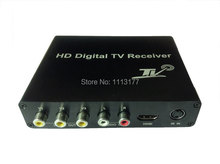 DVB-T HD/SD Receiver Box for Car Two TUNER ,HDMI and 3 sets of video output,HD DVB-T MPEG2/MOEG4 AVC/H.264 Standard(China)