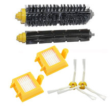 2 Hepa Filter + 1 set hair Brush kit + 1 side brush for iRobot Roomba 700 Series 770 780 790 Vacuum Cleaner Accessories Parts(China)