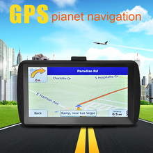 7 inch Capacitive Screen FM+8G+DDR128M Vehicle Truck GPS Car Navigator for Europe Southeast Asia North America South America
