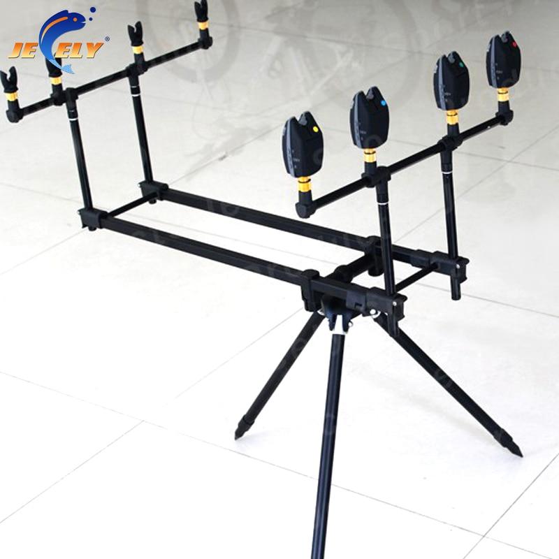Free Shipping JY112-3 Telescopic Alumimum Carp Fishing Rod Pod,Bite alarm Rod Pod<br><br>Aliexpress
