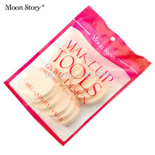 Free shipping (1pack=12pcs) Moon Story wet and dry Latex sponge cosmetic puff cotton puff makeup beauty tools