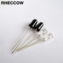 RHECCOW 100pair/lot 3mm 940nm Infrared receiver and Infrared emission emitting diodes IR LED(China)