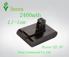 Free Shipping 2400mAh 22.2V Rechargeable Lithium Ion Replacement Battery for DYSON Vacuum Cleaner DC31 DC34 DC35 DC44 917083-01(China)