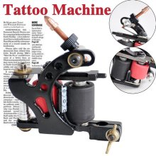 Free Shipping hot sale top quality models of professional tattoo machine 5-color tattoo machine gun