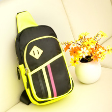 Mini Functional multilayer Messenger Bag Cool Casual Chest Bag Pack Morden Capacity Messenger bag Pack 50