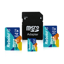 New Fashion Micros card TF card 4GB 8GB 16GB 32GB 64GB class10 Memory Card Micro SD Card Pen drive Flash Adapter Reader