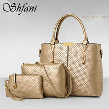 Buy SHANGFANGNI Luxury Bags Designer Handbags High Women Famous Brands 2017 PU Leather Bag Women Set Purses Handbags for $34.22 in AliExpress store