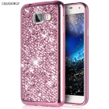 Luxury Glitter Silicon Case For Samsung Galaxy A5 J3 J5 J7 2016 S4 S5 S6 S7 Edge Grand Prime Cover For iPhone 7 6S Plus 5(China)