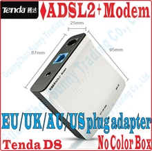 EU/UK/AU/US Plug Tenda High Speed DSL Internet Modem ADSL 2+ Wired Router ADSL Broadband Modem, No Color Package Box(China)