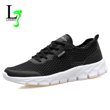 Men Shoes 2017 Summer Mesh Shoes Slip on Loafers Fashion Men Footwear Rubber Casual Shoes