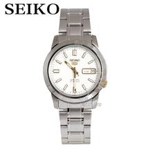 Seiko male watch fashion mechanical night light men's day watch SNKK07K1 SNKK09K1 SNKK17K1(China)