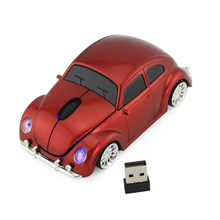 Free Shipping New Fashion Sports Car 2.4GHz Wireless Mouse Car Mause 1600DPI Optical Gaming Mouse Mice for Computer PC