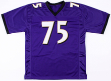 Embroidered Logo Jonathan Ogden purple throwback high school FOOTBALL JERSEY for fans gift cheap 1211-3(China)