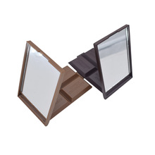 Funny Dark Brown Chocolate Pocket Mirror Woman Makeup tool For Cosmetic Use At Home Office Design Make-up Mirror P2