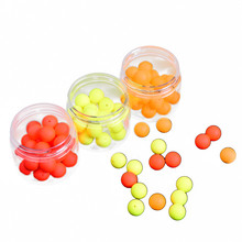 30PC EPS buoyancy ball+1PC plastic bottle LEO Bottled EPS Foam Buoyancy Ball Float Ball Gear