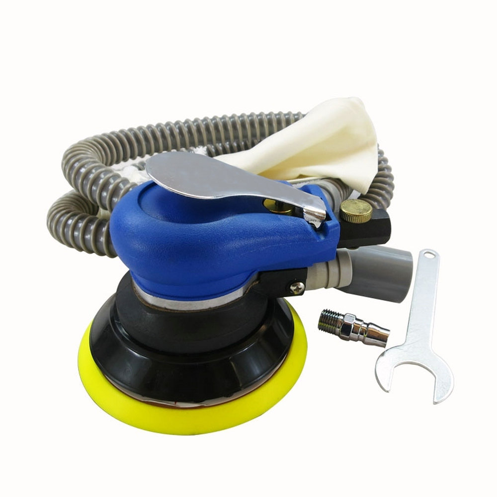5 Air Sander Grinder Pneumatic Polisher Vacuum Cleaner Tool with Exhaust Pipe<br>
