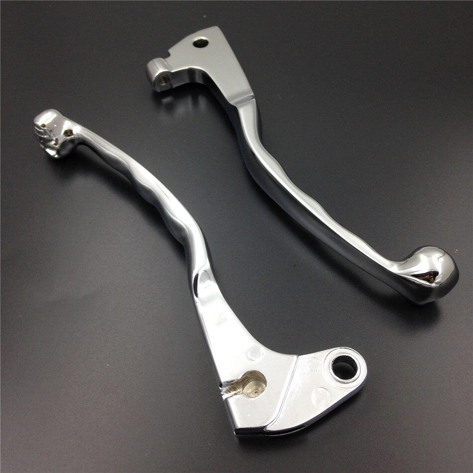 Aftermarket free shipping motorcycle parts Brake Clutch Skull Lever for   XV250 XV535 XV700 XV750 XV1000 XV1100 Chrome<br><br>Aliexpress