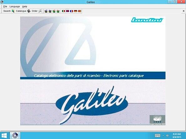 Landini EPC Galileo v8.0 Multilanguage<br><br>Aliexpress