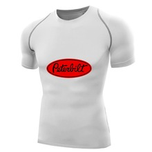 Fashion Peterbilt Truck Mens Compression Top Tees Shirts Quick Dry T-shirt Fitness boys Bodybuilding Base Layer Husband gifts(China)