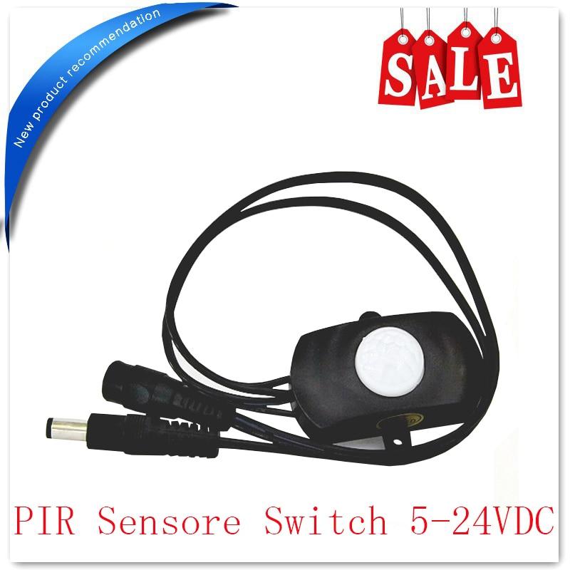 Mini DC5-24V passive infrared motion sensor switch pir sensor switch light sensor modul for LED lights bulb<br><br>Aliexpress