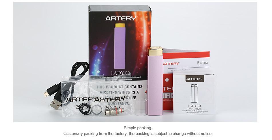 Artery Lady Q Starter Kit 1000mAh