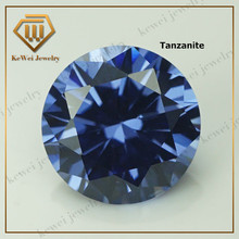Medium Tanzanit e color CZ Stone AAAAA 1.0mm-2.5mm 1.1mm 1.5mm 1.6mm 2.0mm Cubic Zirconia Stone Synthetic Gems Stone(China)
