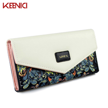 New Famous Brand Designer Luxury Long Walet Women Wallets Evening Clutch Female Bag Ladies Money Coin Purse Carteras Cuzdan(China)