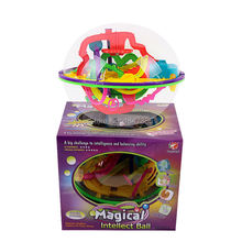 208 Barriers 3D perplexus puzzle Ball Magic Intellect Ball educational toys Puzzle Balance magical Maze IQ Logic Ability Game(China)