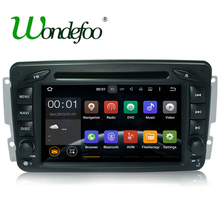 Android 7.1 RAM 2G /1G 2 DIN Car DVD player For Benz CLK W209 W203 W168 W208 W463 W170 Vaneo Viano Vito E210 C208 GPS stereo