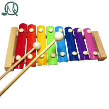 MQ 8 Notes Wooden Hand Knock Piano Xylophone Toy for Kids