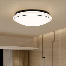 Simple circular led ceiling lamp kitchen bathroom balcony lamp 9W ,1pcs/LOT