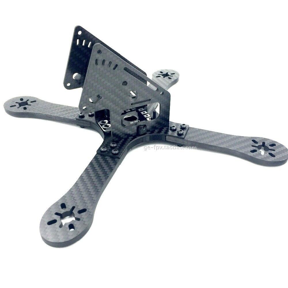 Krieger 225mm 5mm Arm Carbon fiber Frame 5 6 Propeller Quadcopter Kit FPV Racing Drone Racing<br><br>Aliexpress