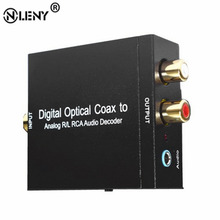 ONLENY Digital Optical Coax to Analog R/L RCA Audio Decoder NK-Y2 Universal Device For Converting Coaxial Signal To Analog L/R