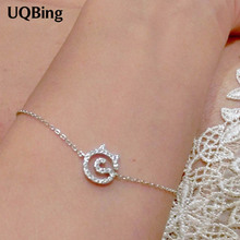 925 Sterling Silver Bracelets Pure Sterling Silver 925 Cat Charm Bracelets Jewelry Pulseras Pulseira